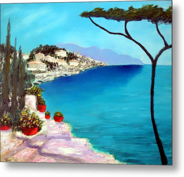 Tuscan Sea Metal Print