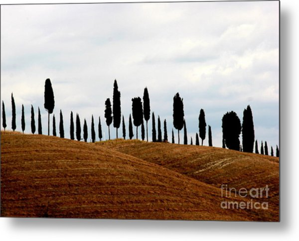 Tuscany Hill Metal Print by Arie Arik Chen