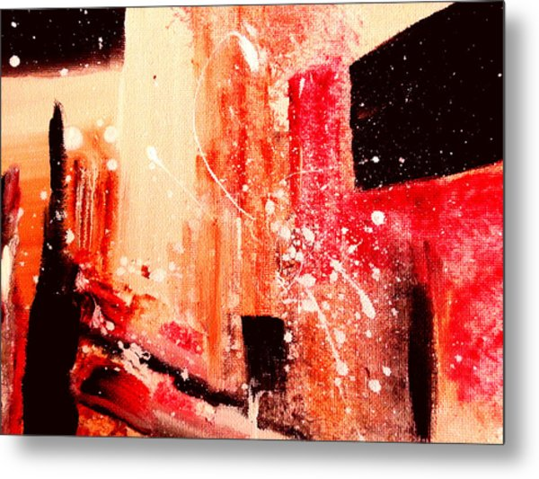 Tuscany Night Metal Print
