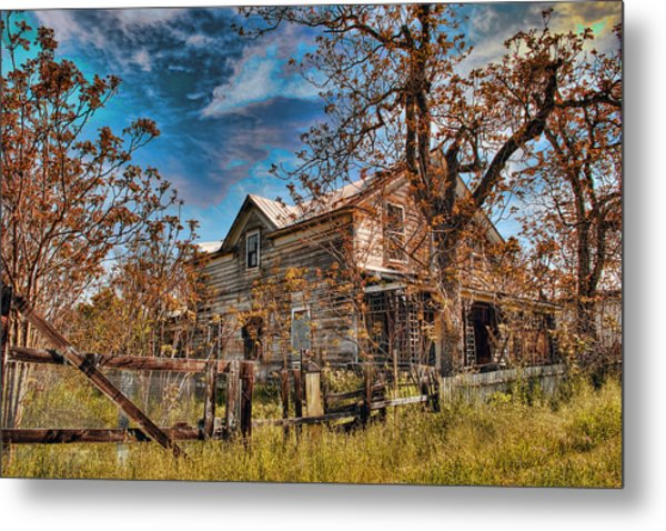 Metal Print featuring the photograph Twainhart House by William Havle