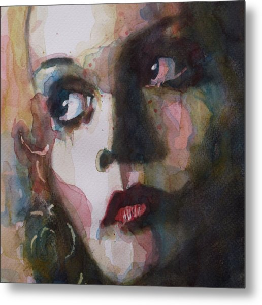 Twiggy Where Do You Go My Lovely Metal Print