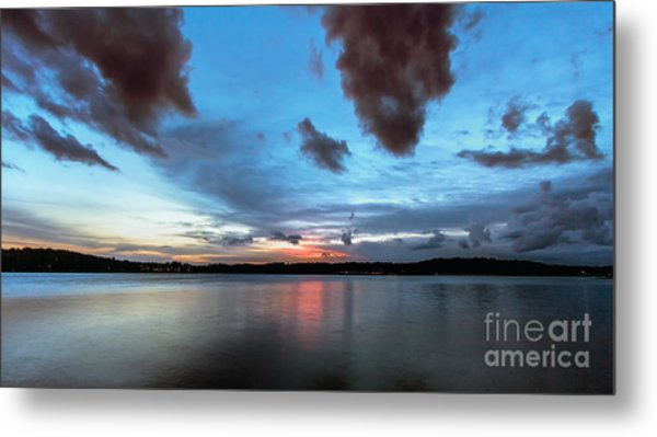 Twilight On Lake Lanier Metal Print