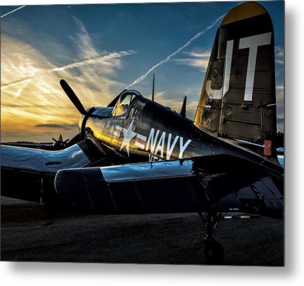 Twilight Corsair Metal Print