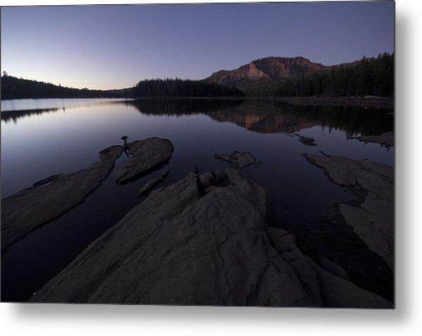 Twilight On Silver Lake Metal Print