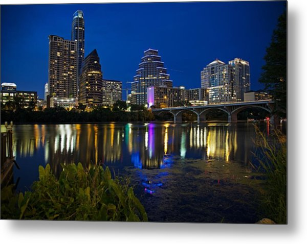 Twilight Reflections Metal Print