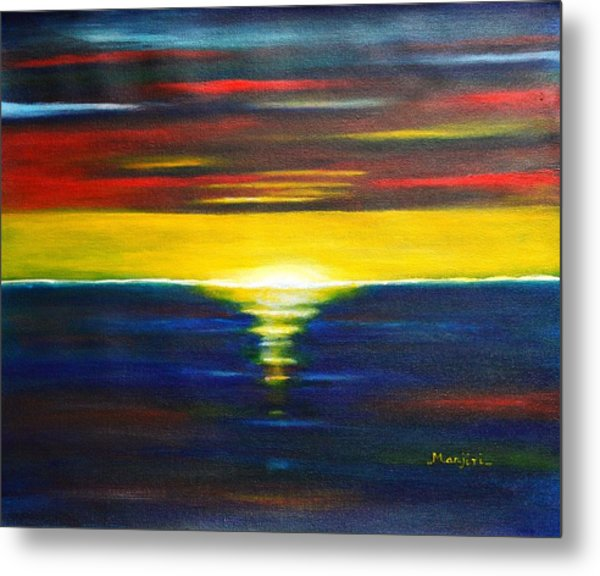 Twilight Sunset Metal Print
