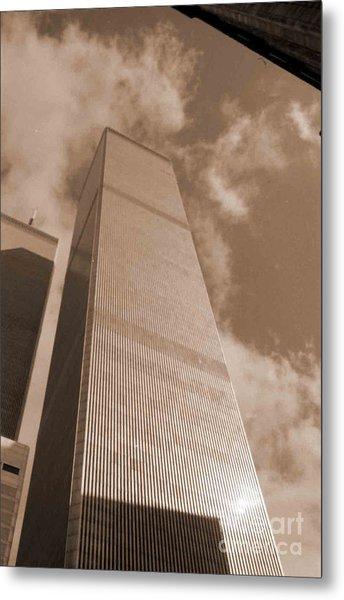 Twin Tower Metal Print