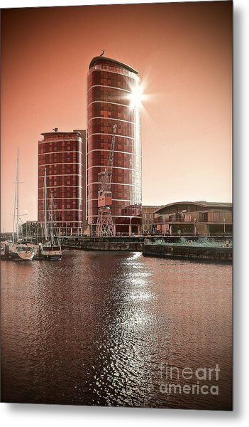 Twin Towers Metal Print by Paul Muscat