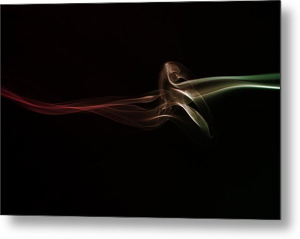 Twisted Metal Print by Mike Farslow