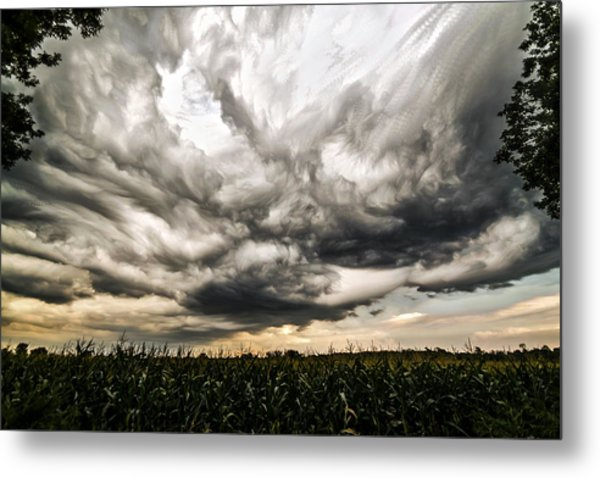 Twisted Sky Metal Print