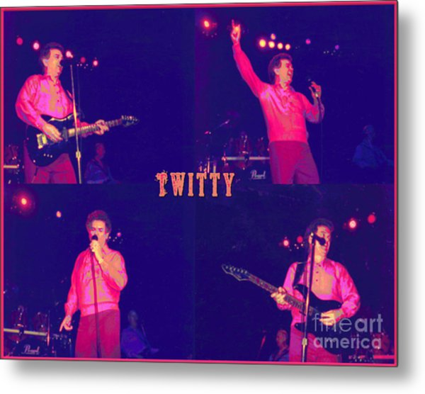 Twitty Made Country Pop Metal Print