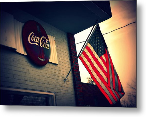 Metal Print featuring the photograph Two American Favorites by Lisa Wooten