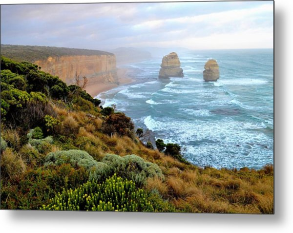 Two Apostles - Great Ocean Road - Australia Metal Print