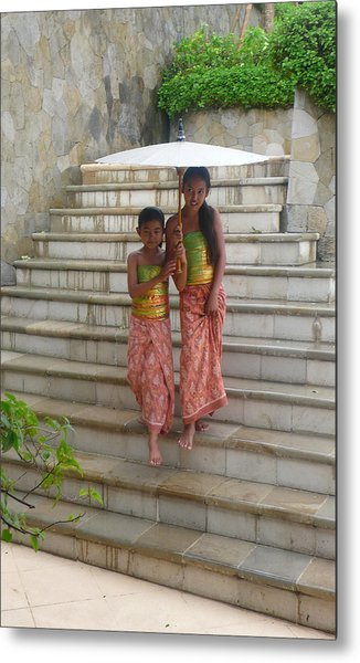 two Bali Beauties  Metal Print by Jack Adams