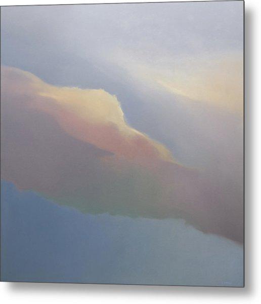 Two Clouds Metal Print