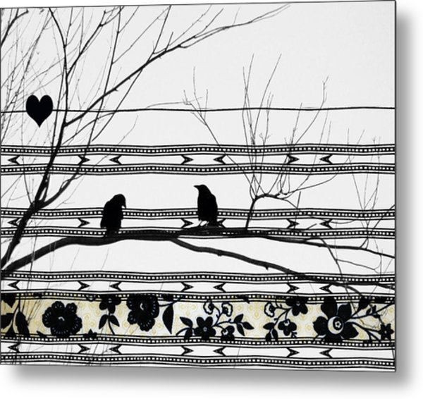 Two Is Better Metal Print