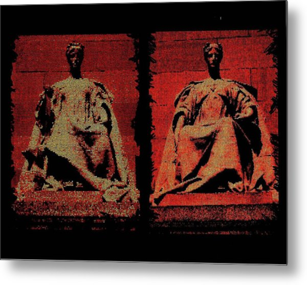 Two Justices Metal Print