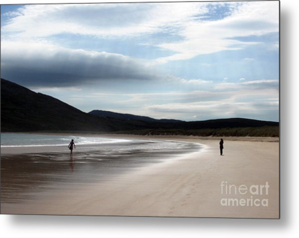 Two On A Beach Metal Print
