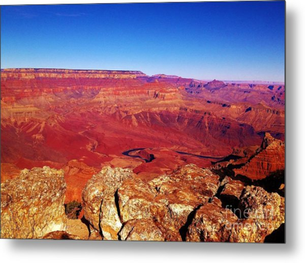 Two One Hundred Eighty Four Metal Print by Debbie L Foreman