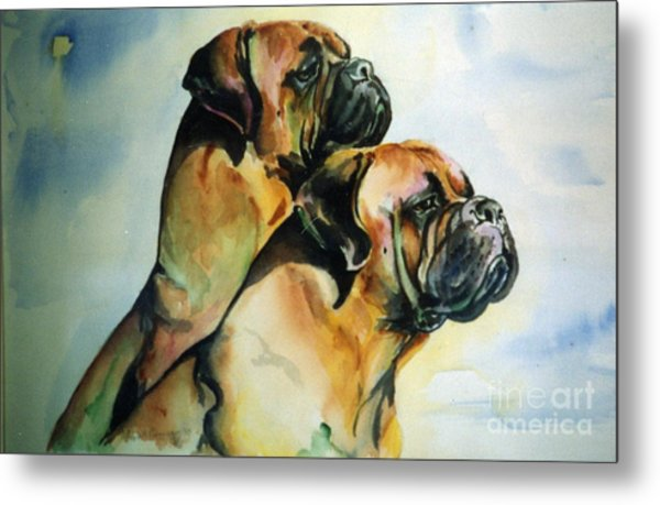 Two Sisters Metal Print by Adele Pfenninger
