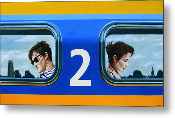 Two To Zaltbommel Metal Print by Jo King