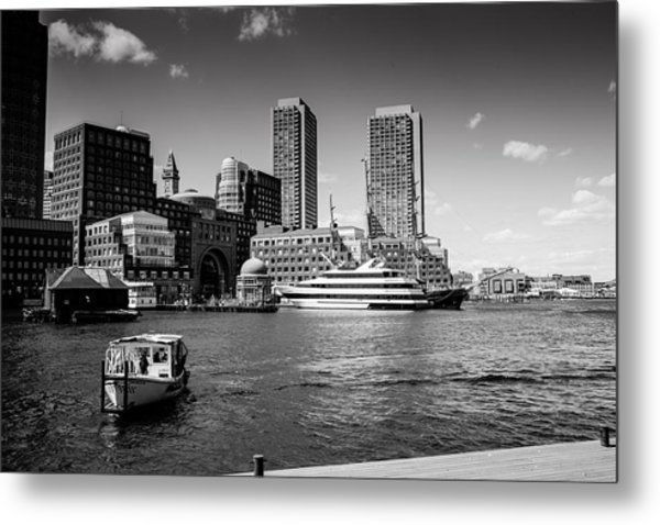 Two Towers Original Available Metal Print by Joelle Hainzelin