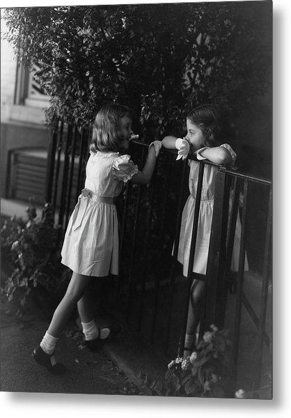 Two Young Girls By Horst P Horst