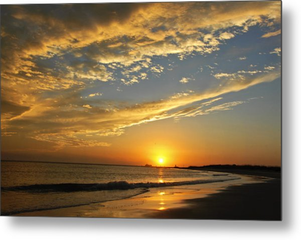 Tybee Dawn Metal Print