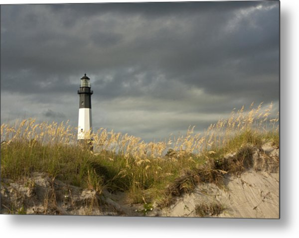 Tybee First Light Metal Print