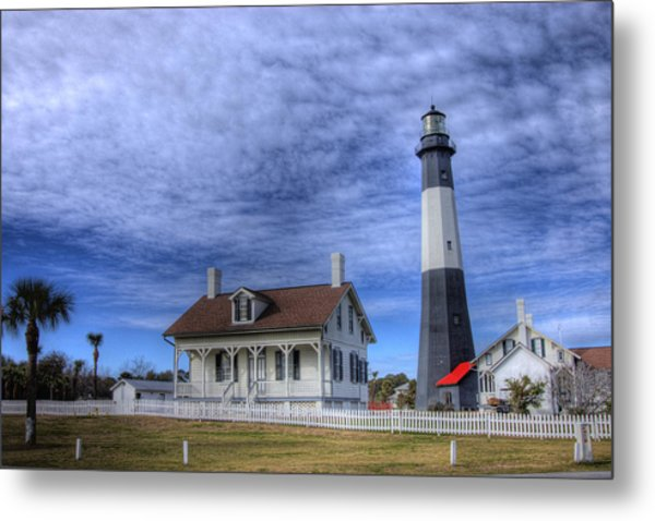 Tybee Island Lighthouse Metal Print