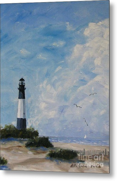 Tybee Light Metal Print