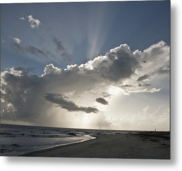 Tybee Sunrise Metal Print