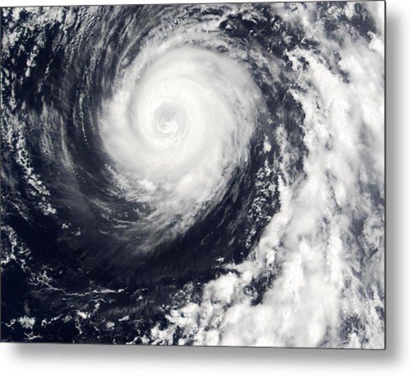 Typhoon 12w Metal Print by Nasa/science Photo Library