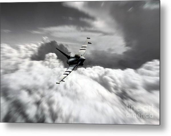 Typhoon Speed  Metal Print