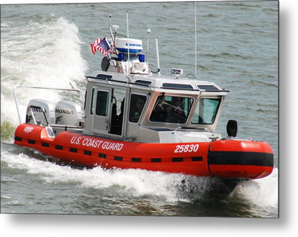 U. S. Coast Guard - Speed Metal Print