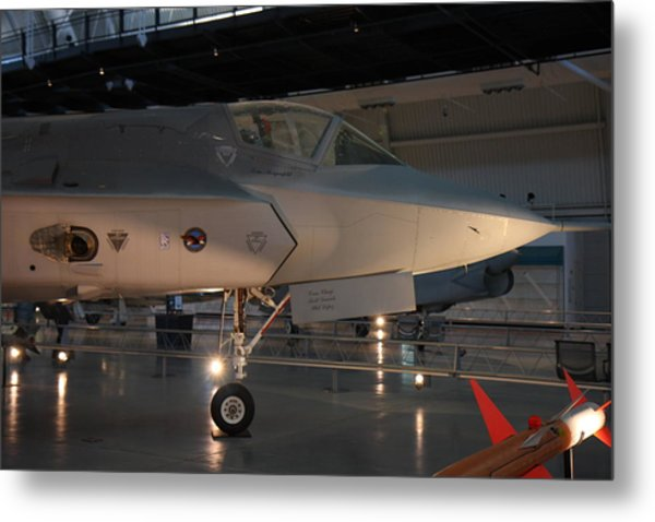 Udvar-hazy Center - Smithsonian National Air And Space Museum Annex - 121221 Metal Print by DC Photographer