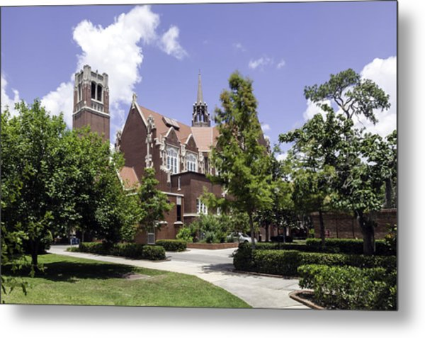 Uf University Auditorium And Century Tower Metal Print