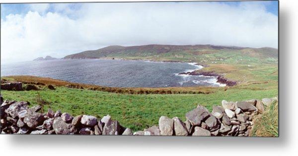 Uk, Ireland, Kerry County, Rocks Metal Print