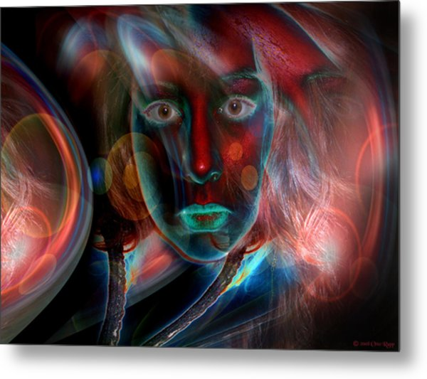 Umbilical Connection To A Dream  Metal Print