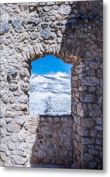 A Window On The World Metal Print
