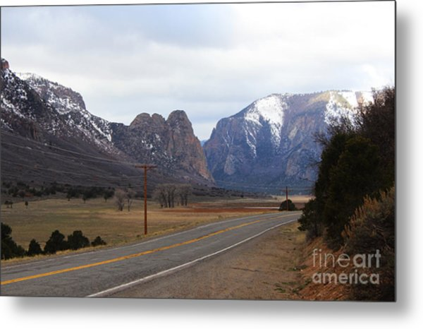 Unaweep Tabeguache Scenic Byway Metal Print