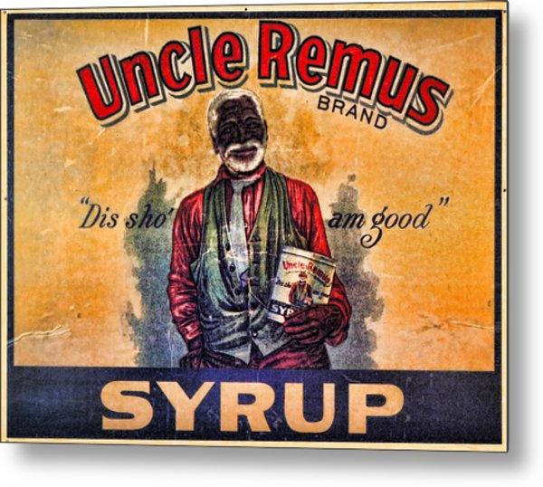 Uncle Remus  Metal Print by Lee Dos Santos