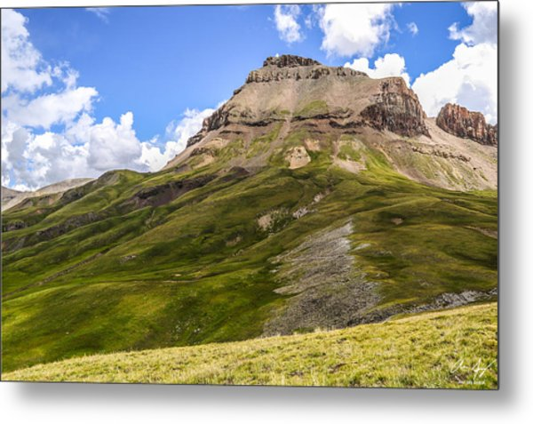 Uncompahgre Peak Metal Print