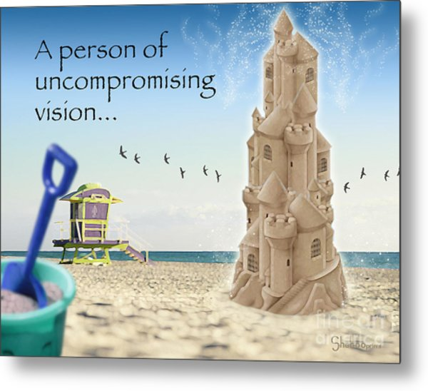 Uncompromising Vision Metal Print