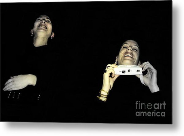 Uncontrolled Joy Metal Print