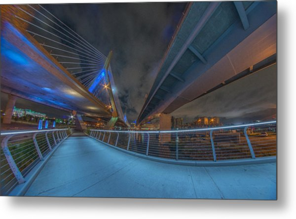 Under The Bridge Downtown Metal Print