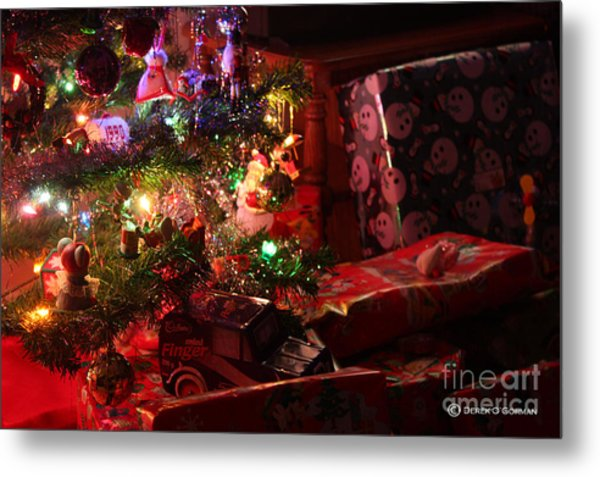 Under The Christmas Tree Metal Print