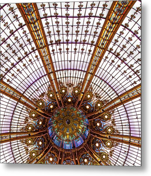 Under The Dome - Paris, France Metal Print