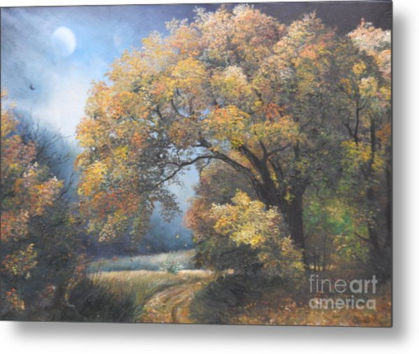 Under The Moonlight  Metal Print