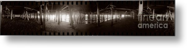 Under The Pier Metal Print by Ron Smith